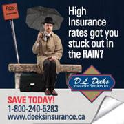 Deeks insurance - Branding Awareness