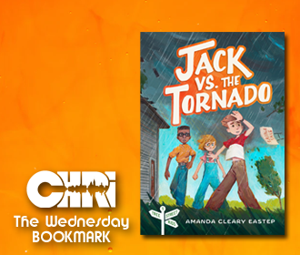 Jack vs. the Tornado, by Amanda Cleary Eastep - Wednesday Bookmark with Care Baldwin